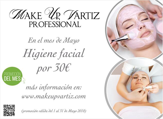 Tratamiento limpieza facial Mayo2018