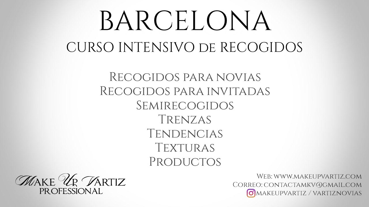 Cartel Recogidos BARCELONA