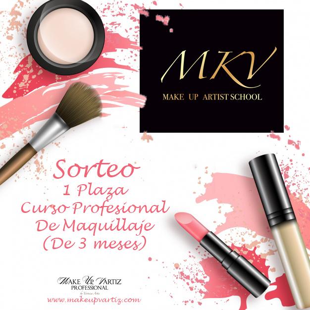 Sorteo Curso Maquillaje MKV - makeupvartiz